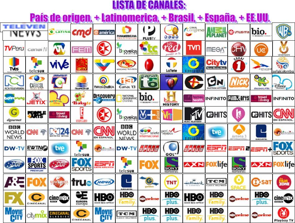 Lista De Canales Antenas Satelitales Solreb